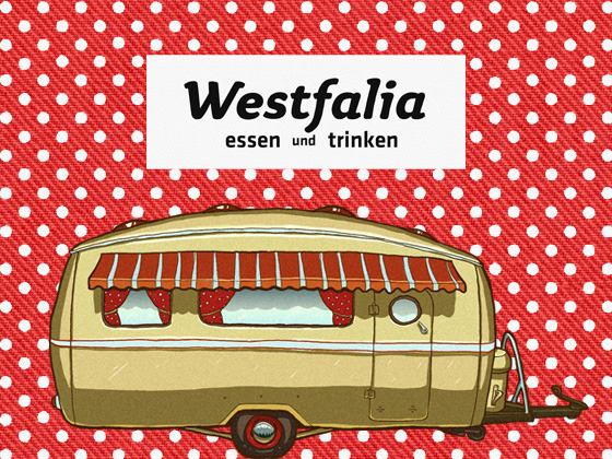 Westfalia foodwagon — фургон с едой из шестидесятых